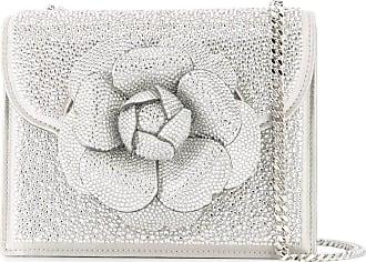 Oscar De La Renta mini Tro crossbody bag - Metallic