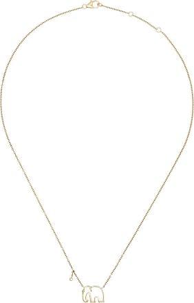 Yvonne Léon 9kt gold Elephant necklace