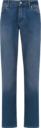 HUGO BOSS Calça jeans reta - Azul
