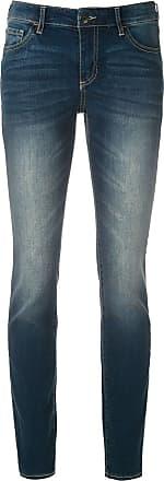 A|X Armani Exchange Calça jeans super skinny - Azul