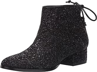 Katy Perry Womens The Whitnee-Chunky Glitter Ankle Boot, Black, 6.5 UK