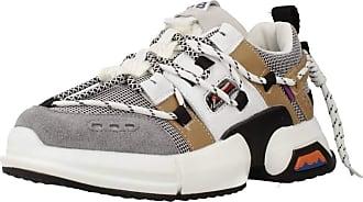 Yellow Women Women Sports Shoes GRAU LINE Grey 5.5 UK