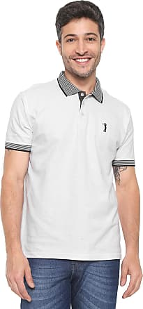 Aleatory Camisa Polo Aleatory Reta Logo Branca