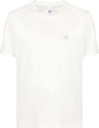 C.P. Company Camiseta decote careca com estampa - Branco