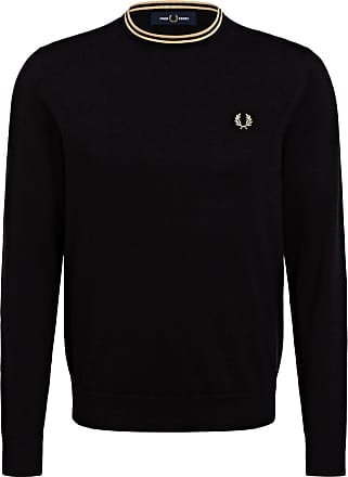 Fred Perry Pullover - SCHWARZ