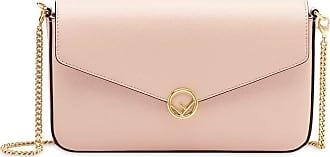 Fendi Bolsa mini com corrente - Rosa