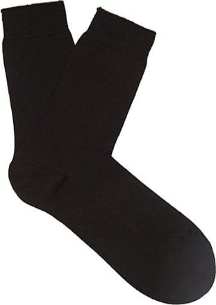 Falke No.1 Finest Cashmere-blend Socks - Womens - Black