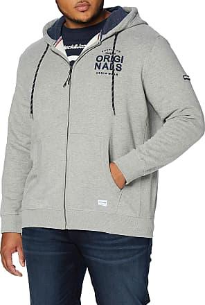 Jack /& Jones Mens Jorcarry Sweat Zip Hood Jacket