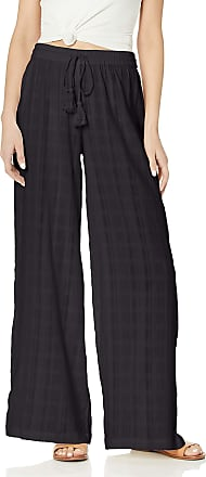 Volcom Womens Sun Spent Pant Casual, Black, XL