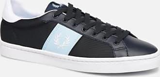 Fred Perry B721 Microfibre Olive Sneaker Herren | Online