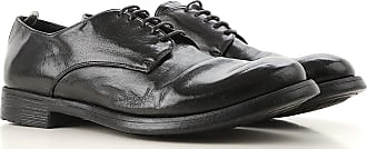 Officine Creative Lace Up Shoes for Men Oxfords, Derbies and Brogues On Sale, Black, Leather, 2017, 8