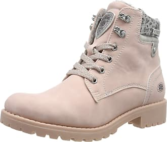 Dockers by Gerli 43fa307, Womens Combat Boots, Pink (Rosa 760), 8 UK (41 EU)
