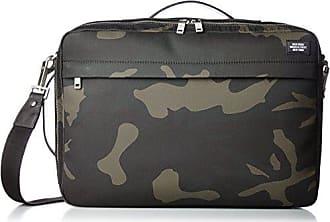 Jack Spade Mens Camo Waxwear Convertible Briefpack