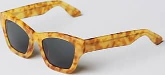 Han Kjobenhavn Ziegelstein-Fackel-goldene Retro Sonnenbrille