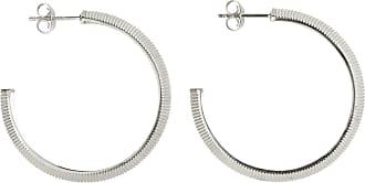 Zoe & Morgan Tasa Hoop Silber - one size | sterling silver | silver - Silver/Silver