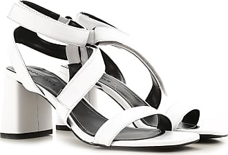Kendall + Kylie Sandali Donna On Sale in Outlet, Bianco, pelle, 2019, 35.5 36 36.5 37 37.5 39