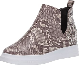 Yoki Womens DEMIAN-23 Sneaker, Snake, 6.5 UK