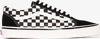Vans Mens Black And White Old Skool 36 Dx Sneakers