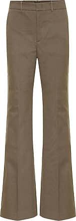 Joseph High-rise stretch-cotton pants