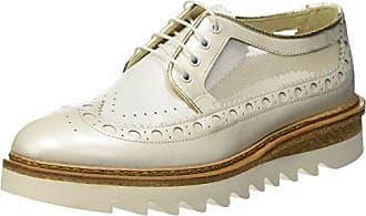 6ed21d4f50eec5 Barracuda Chaussures à Lacets Femme - Blanc - Blanc (Bianco O36), 37.5 EU
