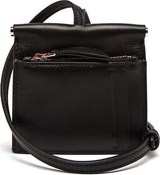 Gabriela Hearst Maria Mini Leather Necklace Bag - Womens - Black