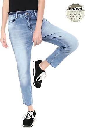 7ba356720 Colcci Calça Jeans Colcci Skinny Cropped Bia Azul