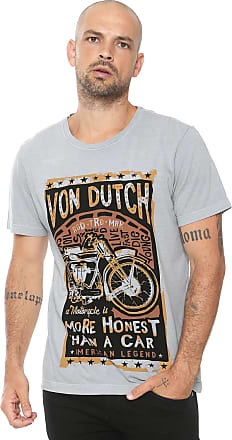 Von Dutch Camiseta Von Dutch More Cinza