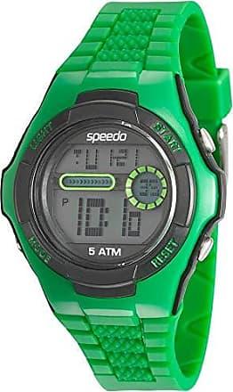 Speedo Relógio Speedo Unissex Pulseira de Plástico Diversas Cores - Verde-Preto