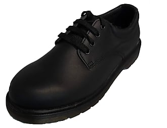 Northwest Territory Mens Boys New Leather Black Casual Formal School Office Work Wedding Shoes UK 11