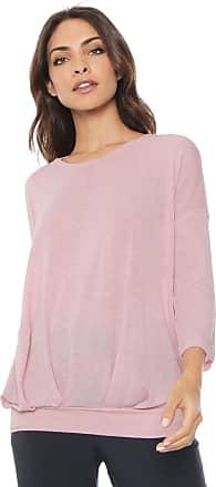 Vero Moda Blusa Vero Moda Básica Rosa