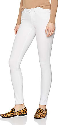Noisy May Womens Nmeve Lw S.Slim Jeans Gu501 Noos Slim, White (Bright White), W26/L32 (Size: 26)