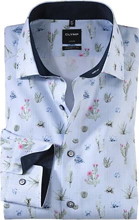 Olymp Luxor Hemd, modern fit, Extra langer Arm, Grün, 37