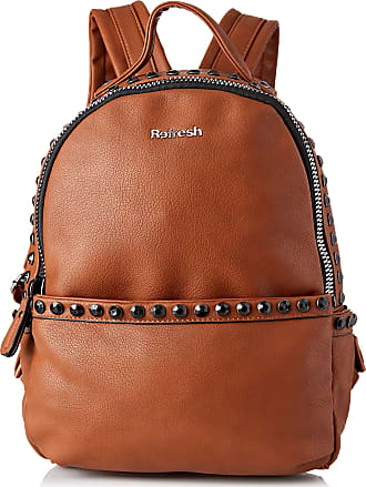 Refresh 83230, Womens Backpack Handbag, Brown (Camel), 25x35x12 cm (W x H L)