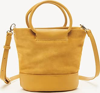 Sole Society Womens Debdi Crossbody Bag Genuine Suede Marigold 61 From Sole Society