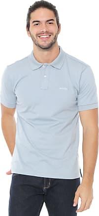 Wrangler Camisa Polo Wrangler Reta Lisa Azul