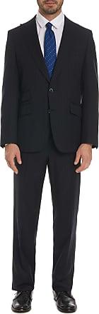 Robert Graham Mens Simon Suit In Navy Size: EU 48R (US 38R) by Robert Graham