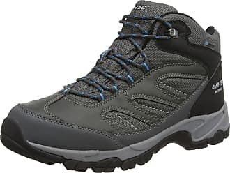 Hi-Tec Mens Moreno High Rise Hiking Shoes - Grey (Charcoal/Gy/Black 054), 12 UK (46 EU)