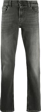 7 For All Mankind Calça jeans slim Slimmy - Cinza