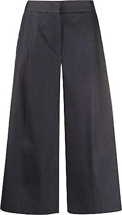 Fabiana Filippi wide leg cropped trousers - Blue