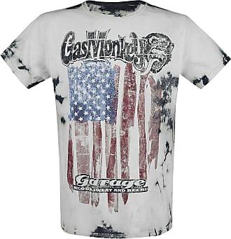 Gas Monkey Garage Wrench Flag T-Shirt White