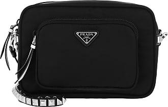 cb0b6454dca6c Prada Crossbody Bag Nero Bianco Umhängetasche schwarz