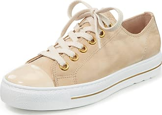 Paul Green Sneakers made of calf nubuck leather Paul Green beige
