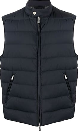Eleventy padded fitted gilet - Blue