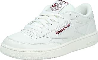 Reebok Mens Workout Plus Low-Top Sneakers, White (White/Royal), 11.5 UK