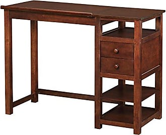 Dorel Home Products Dorel Living Drafting and Craft Counter Height Desk, Espresso
