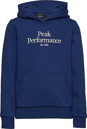 Peak Performance Jr Original Hoodie Hoodie Blå Peak Performance