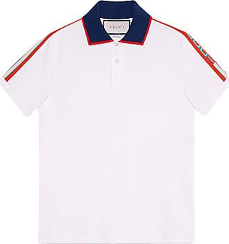 Gucci Camisa polo com logo - Branco