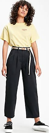 Levi's Pleated Balloon Trousers - Black