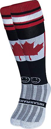 Wackysox Canada Flag Black