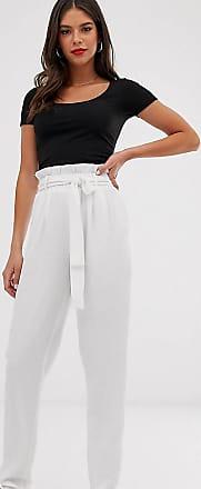 Y.A.S. Tall Cassandra bucket waist trousers-White